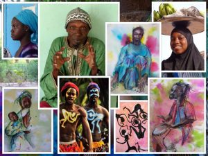 tekenatelier gerdie schiphorst-model- en portrettekenen in gambia