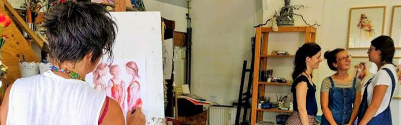 tekenatelier gerdie schiphorst-portrettekenen